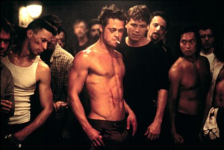 Brad Pitt i Fight Club
