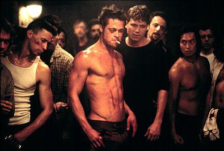 Brad Pitt i Fight Club