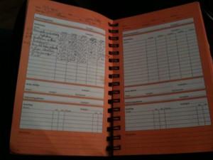 Min träningsdagbok